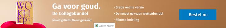Wolters Kluwer – Collegebundel (Leaderboard)