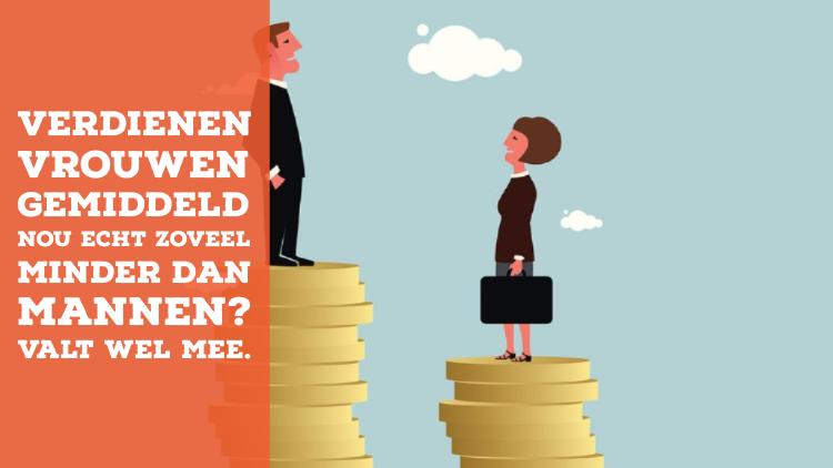 Verdienen vrouwen gemiddeld nou echt zoveel minder dan mannen? Valt wel mee.